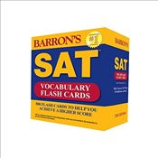 Barrons SAT Vocabulary 2e : 500 Flash Cards to Help You Achieve a Higher Score - Weiner-Green, Sharon