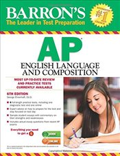Barrons AP English Language and Composition 6e - Ehrenhaft, George