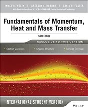 Fundamentals of Momentum, Heat and Mass Transfer - Welty, James
