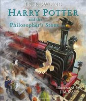 Harry Potter and the Philosophers Stone - 1 : Illustrated Edition - Rowling, J. K.