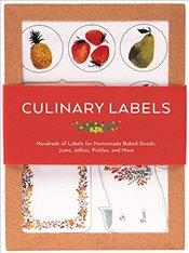 Culinary Kitchen Labels Box : For Homemade Baked Goods, Jams, Jallies, Pickles and More (Stationery) - Chronicle Books