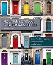 Research Methods in the Social Sciences - Frankfort-Nachmias, Chava