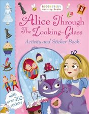 Alice Through the Looking Glass Activity and Sticker Book -