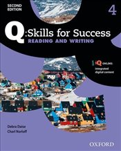Q Skills for Success Level 4 2e : Reading & Writing Student Book with iQ Online - Daise, Debra