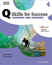 Q Skills for Success Level 4 2e : Listening & Speaking Student Book with iQ Online - Freire, Robert