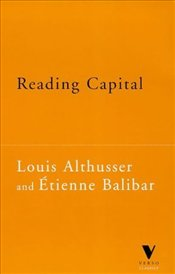 Reading Capital - Althusser, Louis