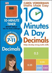 10 Minutes a Day Decimals - Vorderman, Carol