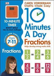 10 Minutes a Day Fractions - Vorderman, Carol