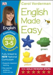 English Made Easy Preschool Early Reading Ages 3-5  - Vorderman, Carol