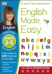 English Made Easy The Alphabet Preschool Ages 3-5  - Vorderman, Carol
