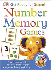 Get Ready For School Number Memory Games -