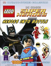 LEGO DC Super Heroes Heroes Into Battle Ultimate Sticker Collection   -