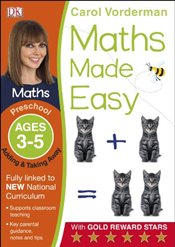 Maths Made Easy, Preschool, Ages 3-5 : Adding and Taking Away - Vorderman, Carol