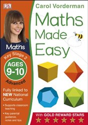 Maths Made Easy Ages 9-10 Key Stage 2 Advanced   - Vorderman, Carol