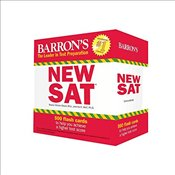 Barrons New SAT Flash Cards 3e : 500 Flash Cards to Help You Achieve a Higher Score - Weiner-Green, Sharon