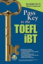 Pass Key to the TOEFL IBT with MP3 audio CD 9e - Sharpe, Pamela