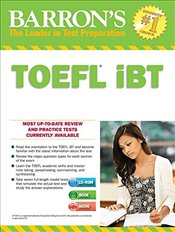 Barrons TOEFL IBT with MP3 Audio CD 15e -