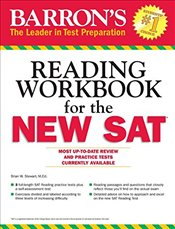 Barrons Critical Reading Workbook for the New SAT - Stewart, Brian W.