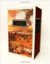 War and Peace : 3-Volume Boxed Set - Tolstoy, Lev Nikolayeviç