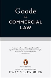 Goode on Commercial Law: Fifth Edition - Goode, Roy