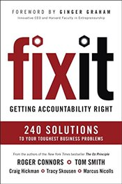 Fix It: Getting Accountability Right - Connors, Roger
