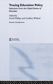 Tracing Educational Policy Phillips - Phillips, David