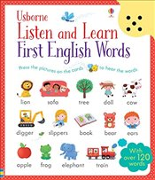 Listen and Learn First English Words - Taplin, Sam