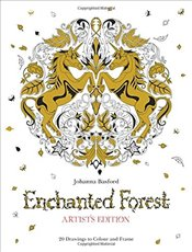 Enchanted Forest Artists Edition: A Pull-Out and Frame Colouring Book (Pull Out & Frame Colouring B - Basford, Johanna