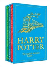 Harry Potter (Three book set, includes Vols 1-3: Philosophers Stone, Chamber of Secrets and Prisone - Rowling, J. K.