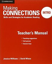 Making Connections Intro Teachers Manual: Skills and Strategies for Academic Reading - Williams, Jessica