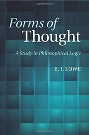 Forms of Thought - Lowe, E. J.