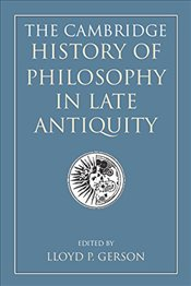 Cambridge History of Philosophy in Late Antiquity 2 Volume Paperback Set - GERSON, LLOYD P.