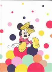 UC - Minnie Trendy Çizgili Defter 19x26 60yp. (MINNIE204-Ç) -