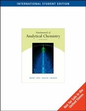 Fundamentals of Analytical Chemistry 8E ISE : With CD - Skoog, Douglas A.