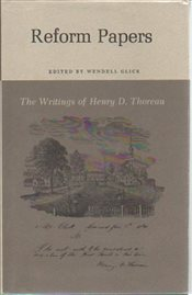 Reform Papers - Thoreau, Henry David