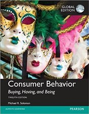Consumer Behavior 12e : Buying, Having, and Being Plus MyMarketingLab with Pearson eText - Solomon, Michael R.