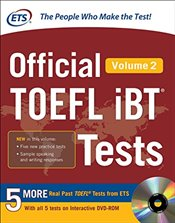 Official TOEFL iBT Tests Volume 2 with DVD - ETS