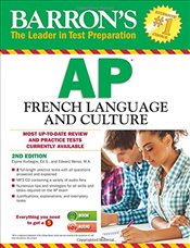 Barrons AP French Language and Culture with MP3 CD - Kurbegov, Eliane