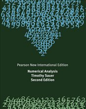 Numerical Analysis 2e PIE - Sauer, Timothy