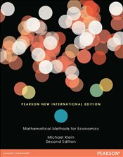 Mathematical Methods for Economic 2e PIE - Klein, Michael