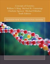 Concepts of Genetics 10e PIE : Plus MasteringGenetics without eText  - Klug, William S.