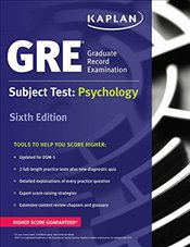 GRE Subject Test: Psychology (Kaplan Test Prep) - Kaplan,