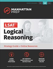 LSAT Logical Reasoning: Strategy Guide + Online Tracker (Manhattan Prep LSAT Strategy Guides) - Prep, Manhattan