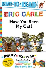 Eric Carle Ready-To-Read Value Pack: Have You Seen My Cat?; Walter the Baker; The Greedy Python; Roo - Carle, Eric