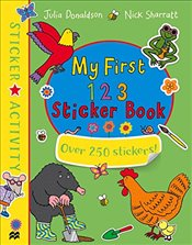 My First 123 Sticker Book - Donaldson, Julia