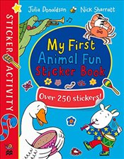 My First Animal Fun Sticker Book - Donaldson, Julia