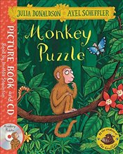 Monkey Puzzle: Book and CD Pack - Donaldson, Julia