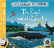 Snail and the Whale: Book and CD Pack - Donaldson, Julia