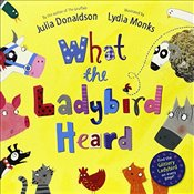 What the Ladybird Heard Book and CD Pack - Donaldson, Julia