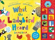 What the Ladybird Heard Sound Book - Donaldson, Julia